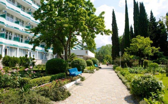 Курортный отель (санаторий) СКК Знание в городе Сочи, Адлер