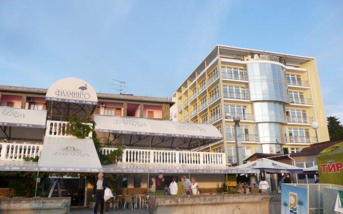 отель Фламинго Адлер - центр Адлера | Отели и гостиницы Адлера