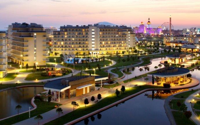 Сочи Парк Отель 3* в Олимпийском парке. Гарантия лучшей цены